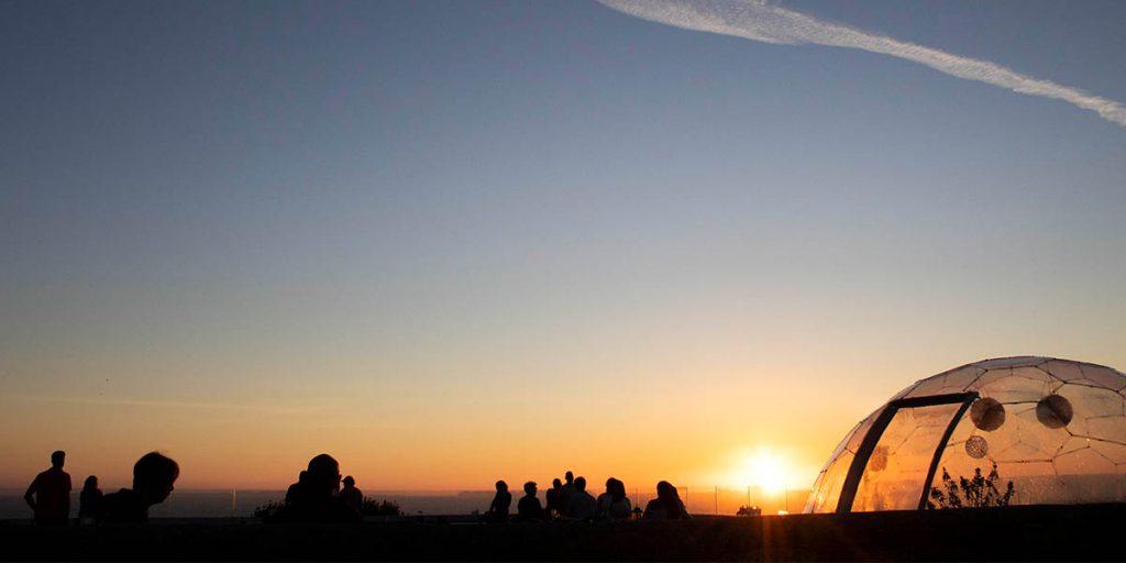 Sunset Dome b
